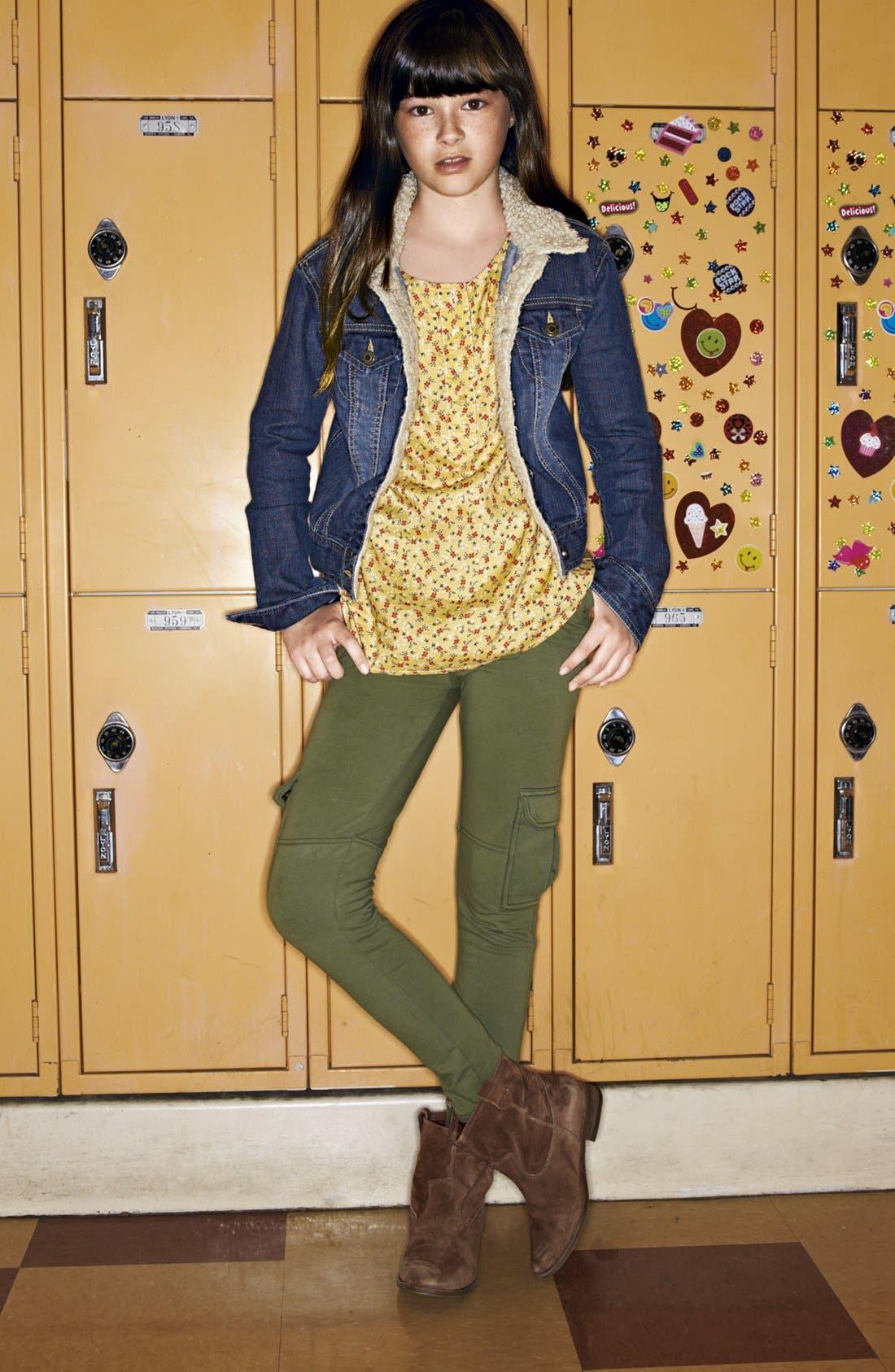 Alternate Image 3  - Tucker + Tate 'Ella' Knit Cargo Pants (Big Girls)