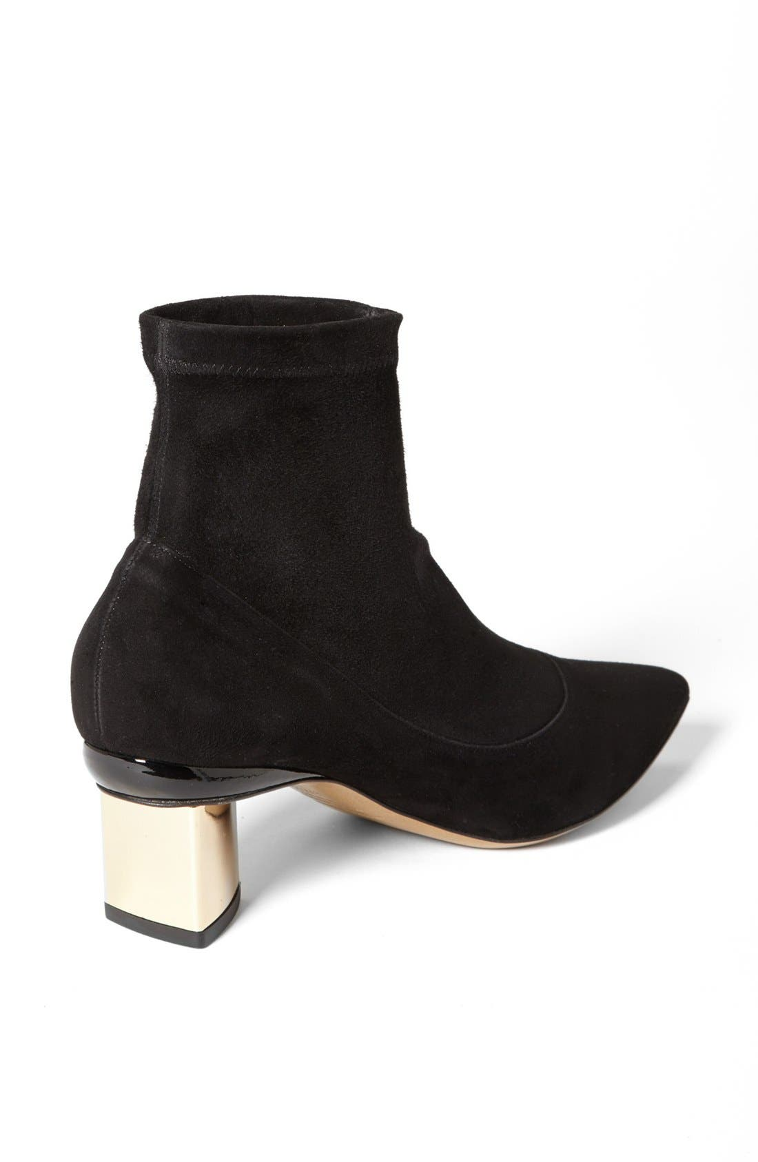 Alternate Image 2  - Nicholas Kirkwood Stretch Suede Bootie