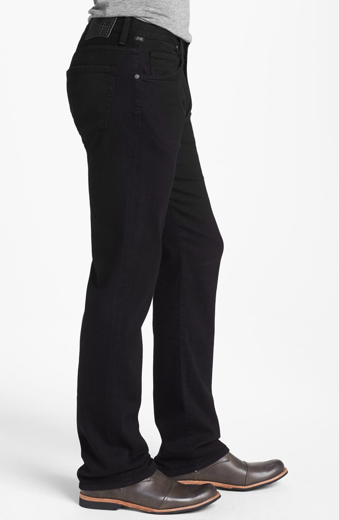 Alternate Image 3  - Citizens of Humanity 'Sid' Classic Straight Leg Jeans (Midnight Black)