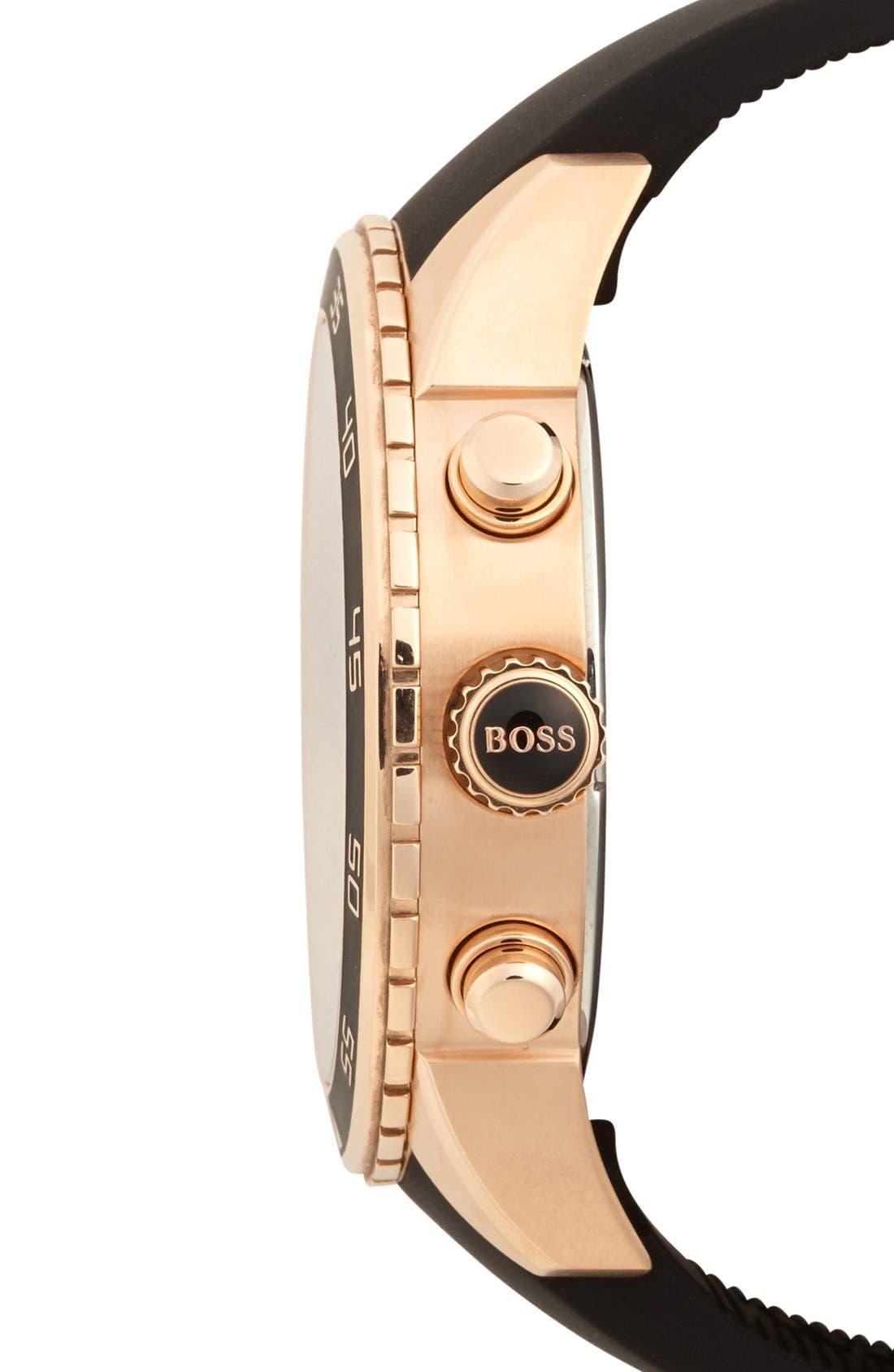 Alternate Image 3  - BOSS HUGO BOSS 'Deep Blue SX' Chronograph Watch, 46mm