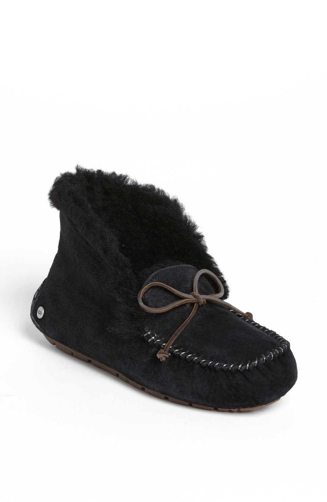 Alternate Image 1 Selected - UGG® UGGpure™ Alena Suede Slipper Bootie (Women)