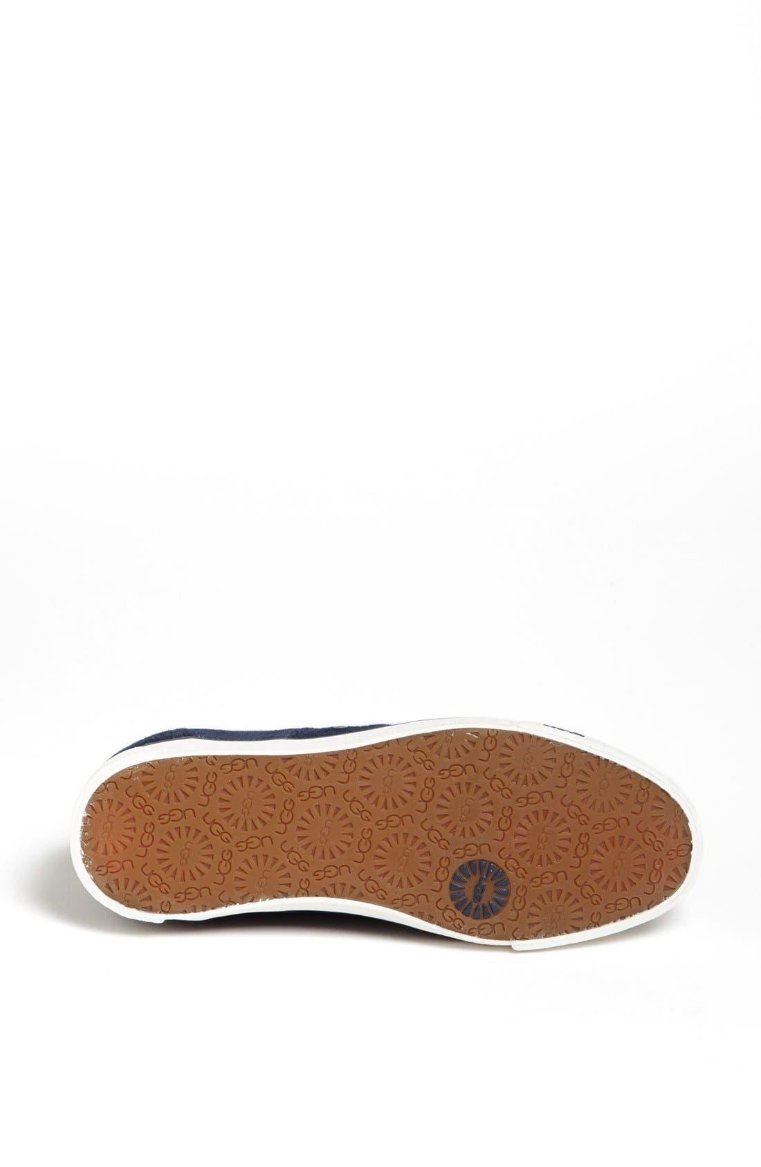 Alternate Image 4  - UGG® Australia 'Hally' Perforated Suede Sneaker