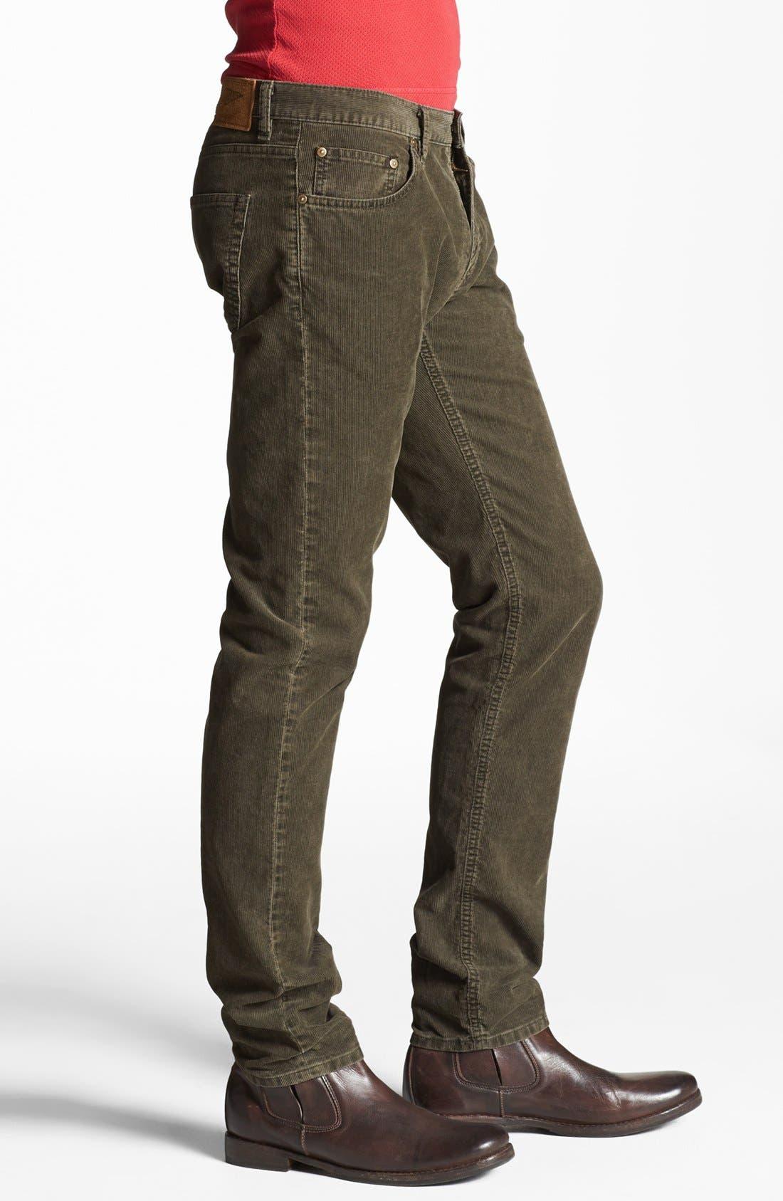 Alternate Image 3  - Gant by Michael Bastian Slim Straight Leg Corduroy Pants