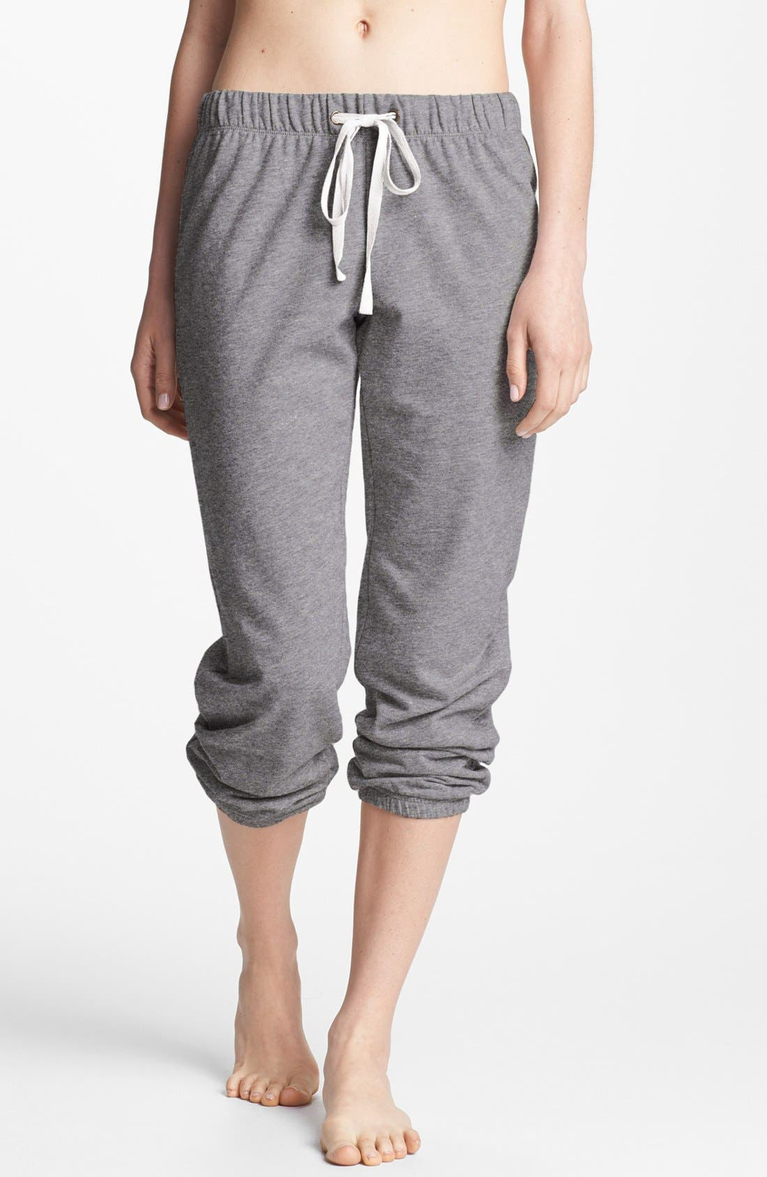 Main Image - Make + Model 'Jogger' Fleece Pants