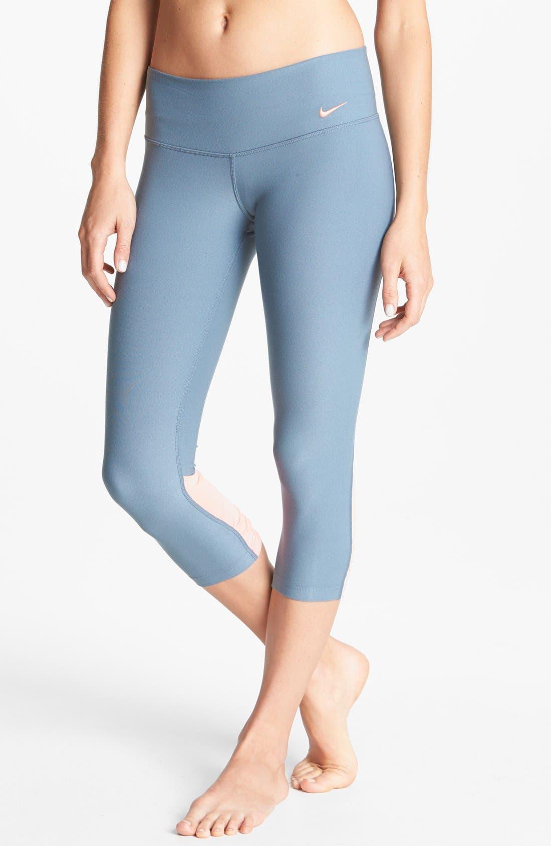 Alternate Image 2  - Nike 'Legend 2.0' Low Rise Capri Leggings