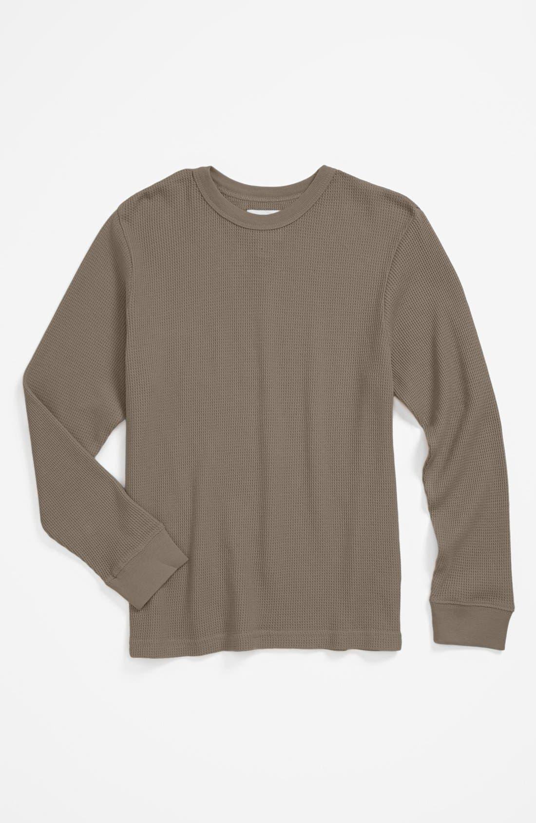 Alternate Image 1 Selected - Peek Layering Thermal Shirt (Little Boys & Big Boys)