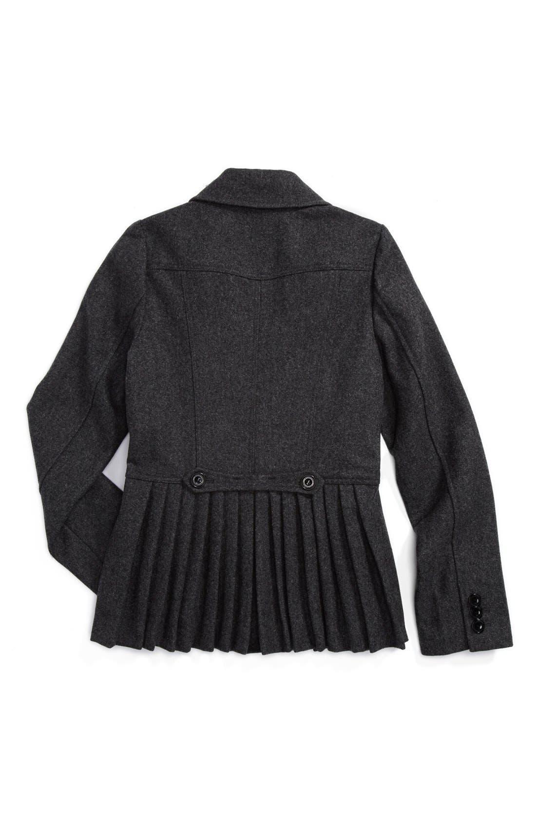 Alternate Image 2  - Burberry Tailored Jacket (Little Girls & Big Girls)