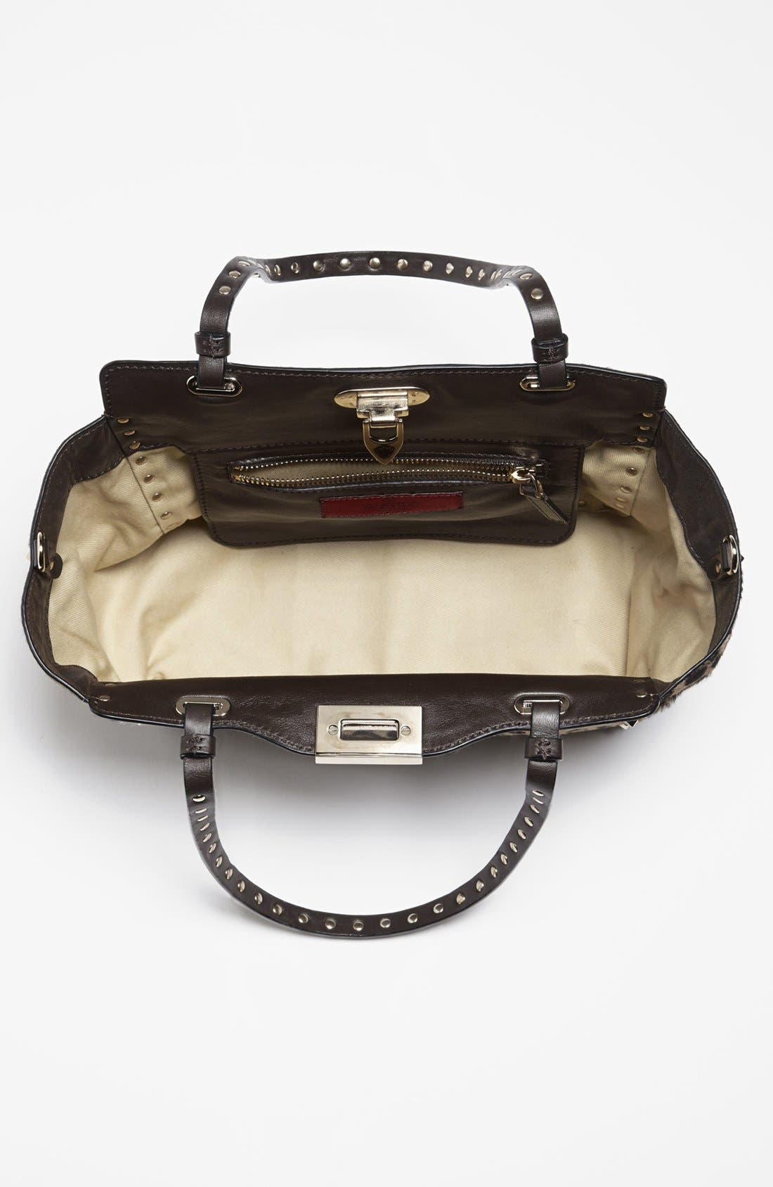 Alternate Image 2  - Valentino 'Rockstud - Mini Cavallino' Calf Hair Crossbody Bag