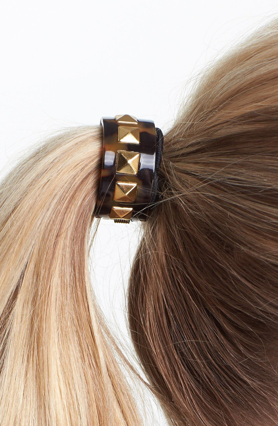 Alternate Image 2  - L. Erickson 'Cleo' Cuff Ponytail Holder