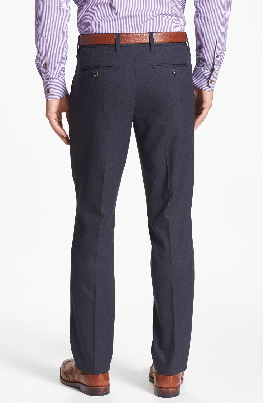 Alternate Image 2  - Ted Baker London 'Shabtro' Multi Fabric Trousers