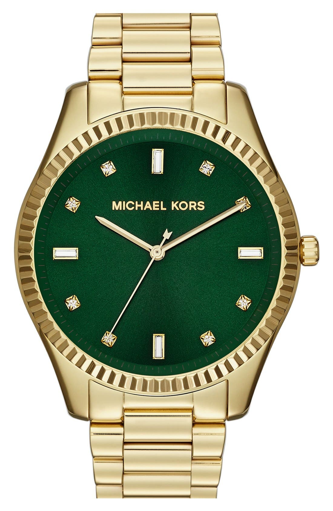 Alternate Image 1 Selected - Michael Kors 'Blake' Bracelet Watch, 42mm