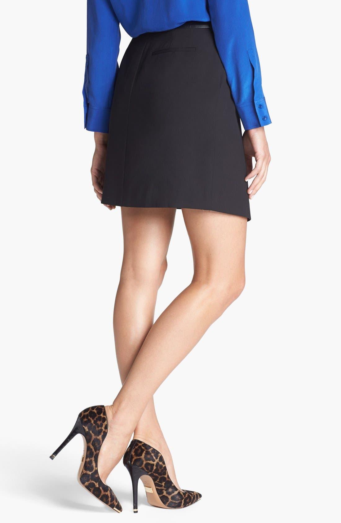 Alternate Image 2  - Trouvé Asymmetrical Faux Wrap Skirt