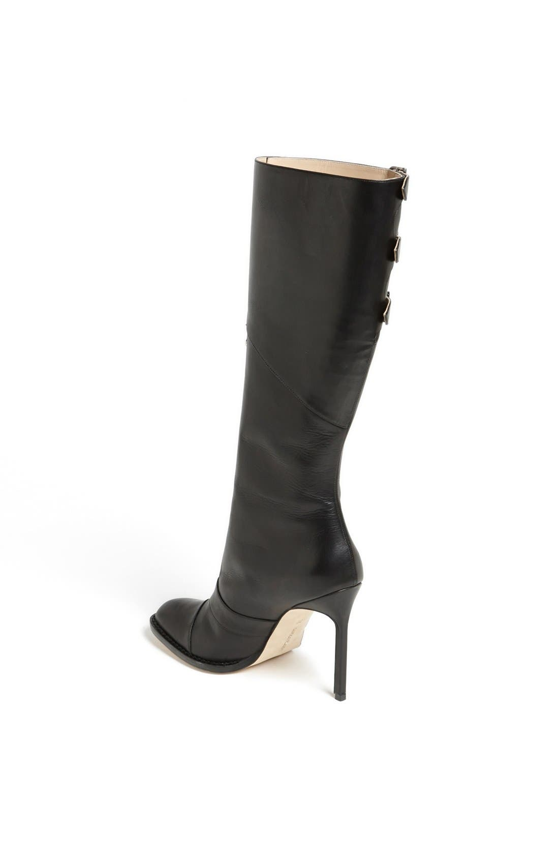 Alternate Image 2  - Manolo Blahnik Tall Leather Boot