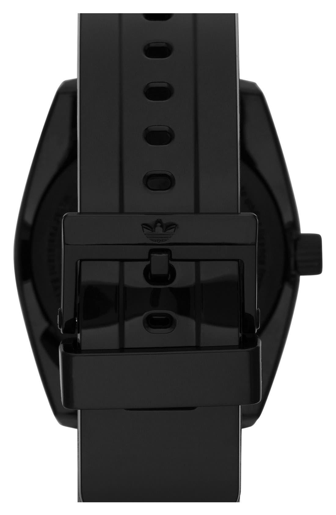 Alternate Image 2  - adidas Originals 'Santiago' Metallic Accent Watch, 42mm