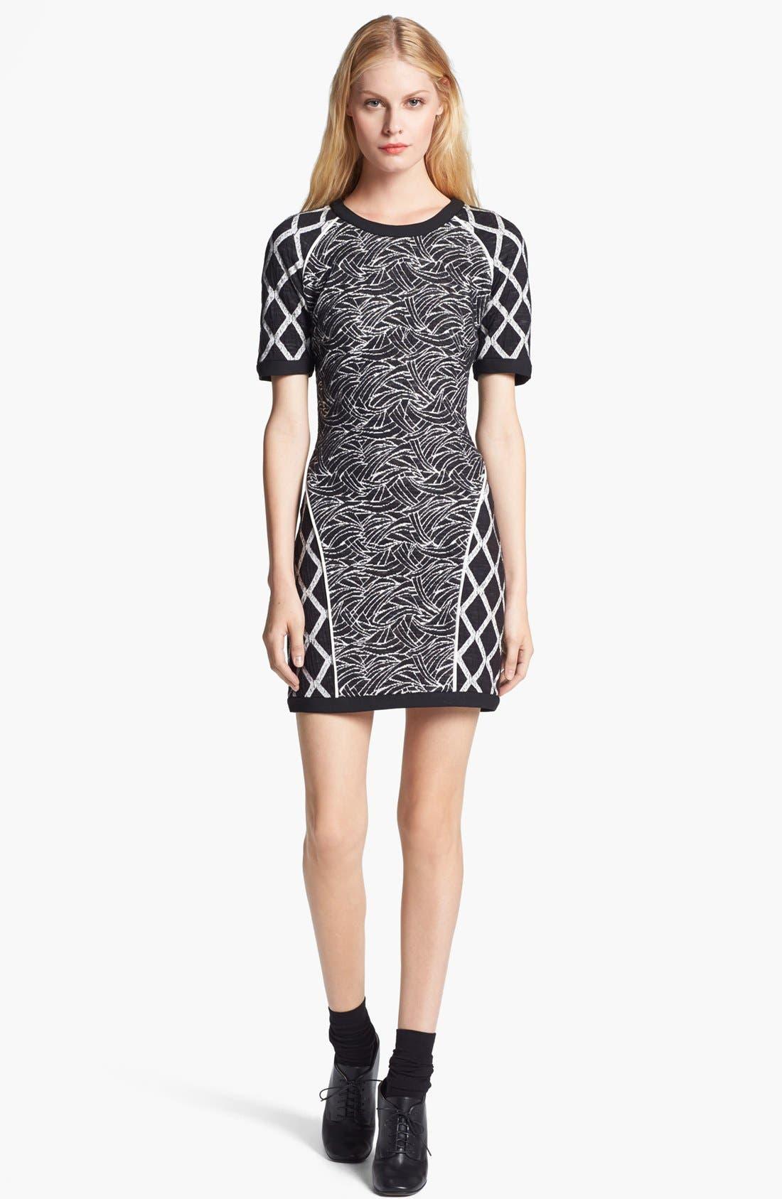 Alternate Image 1 Selected - Elizabeth and James 'Argon' Wave Knit Dress