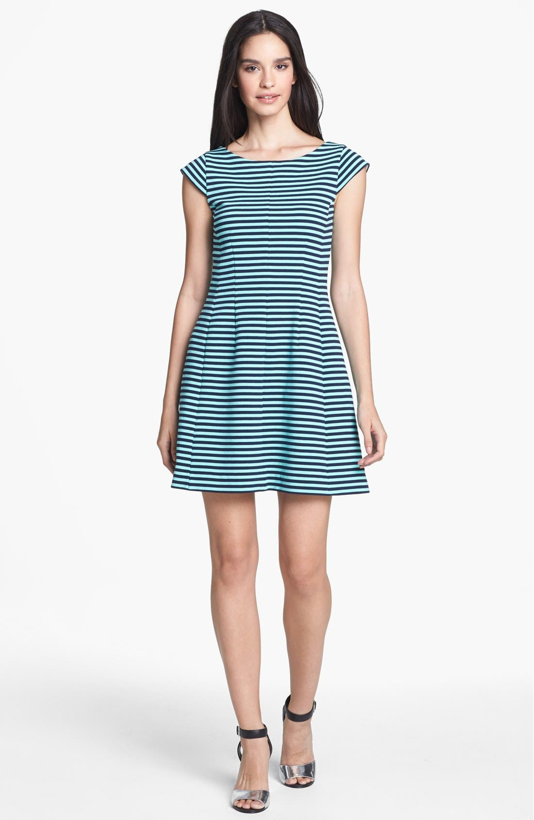 Alternate Image 1 Selected - Lilly Pulitzer® 'Briella' Stripe Fit & Flare Dress