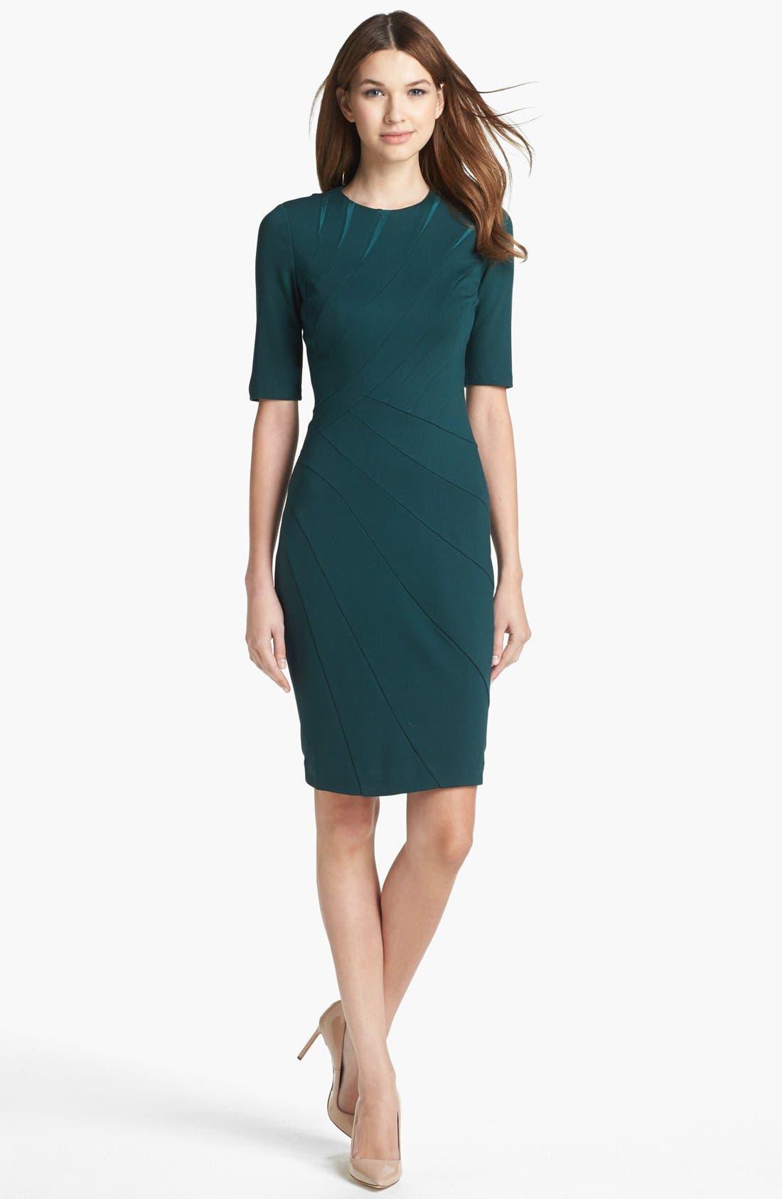 Alternate Image 1 Selected - Ted Baker London Seam Detail Dress