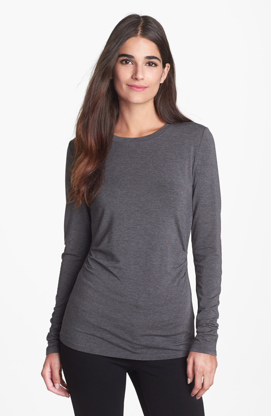 Main Image - Nordstrom Collection Stretch Modal Tee