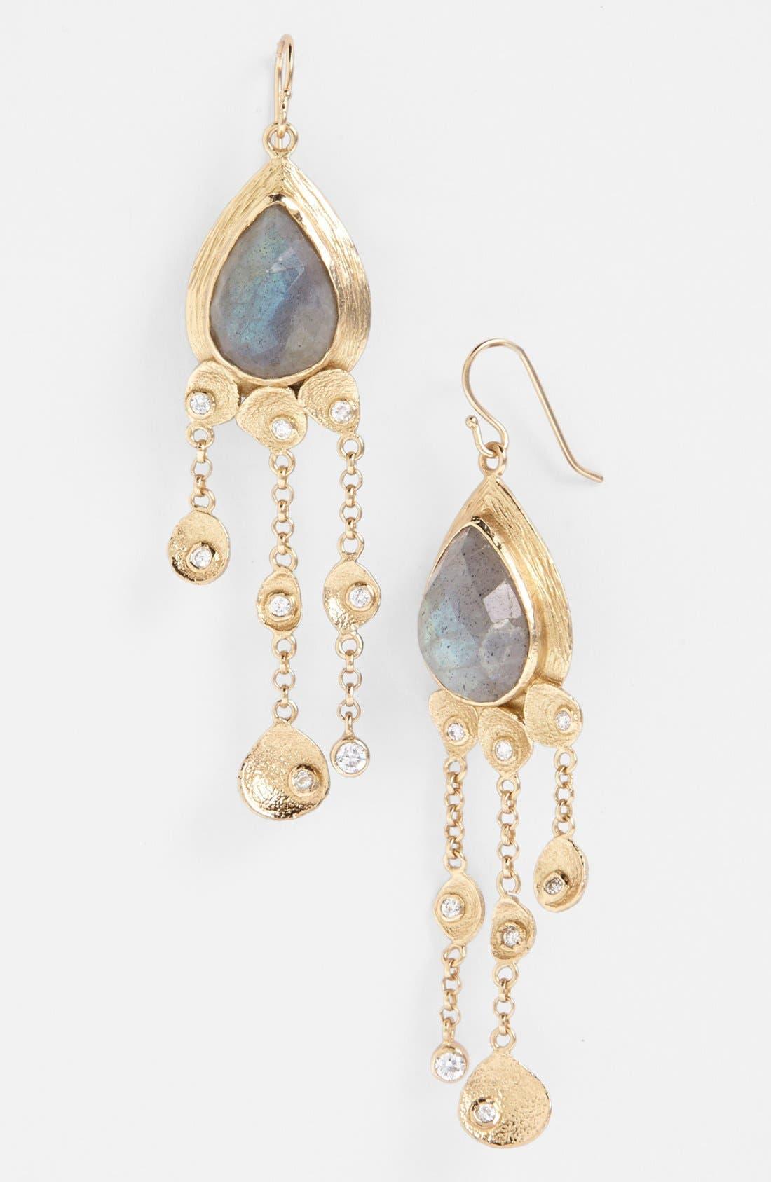 Main Image - Melinda Maria 'Mosaic - Felix' Drop Earrings
