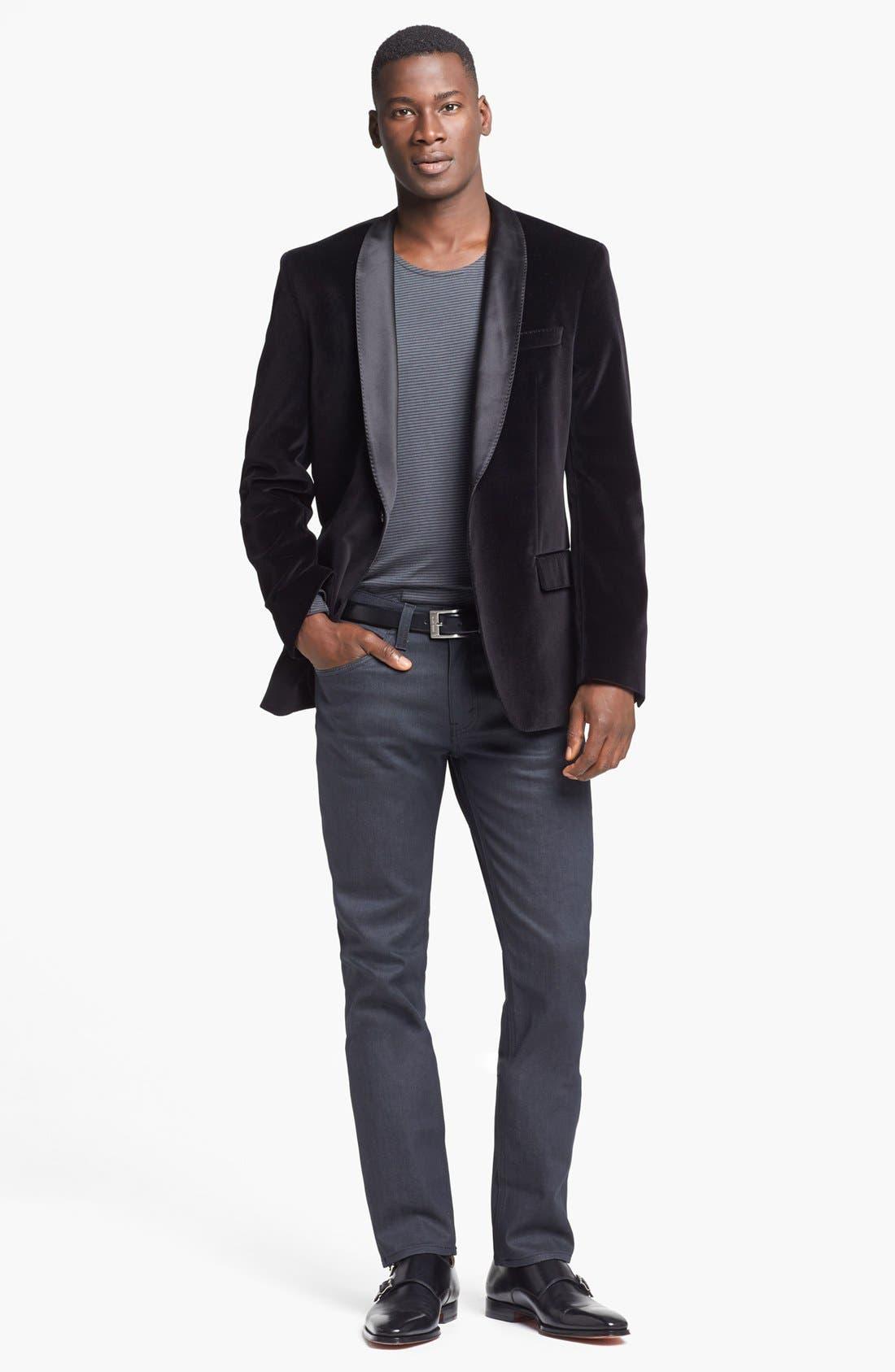 Alternate Image 5  - Levi's® '511' Slim Fit Jeans (Anthracite)