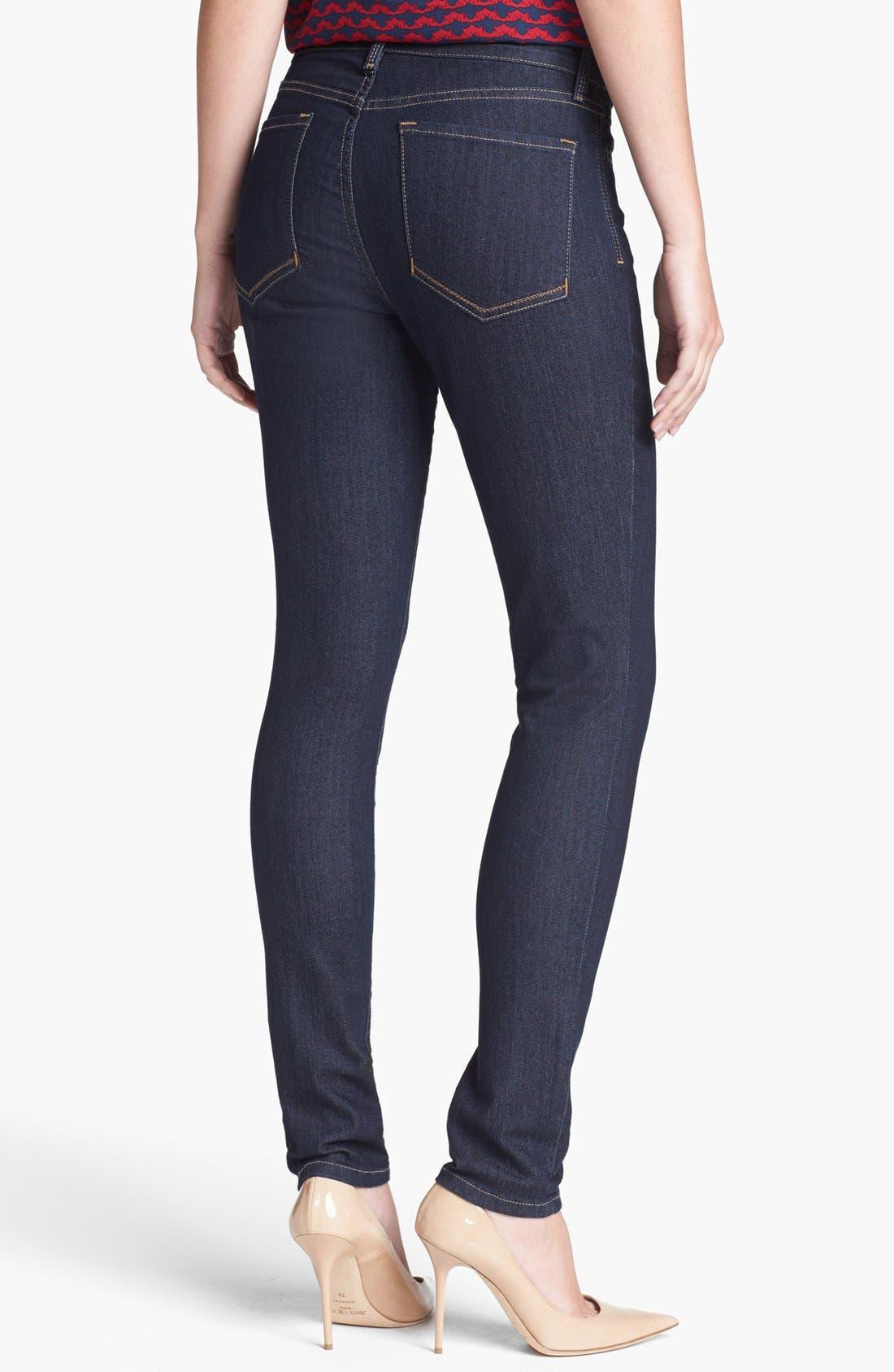 Alternate Image 2  - NYDJ 'Ami' Stretch Skinny Jeans (Dark Enzyme)