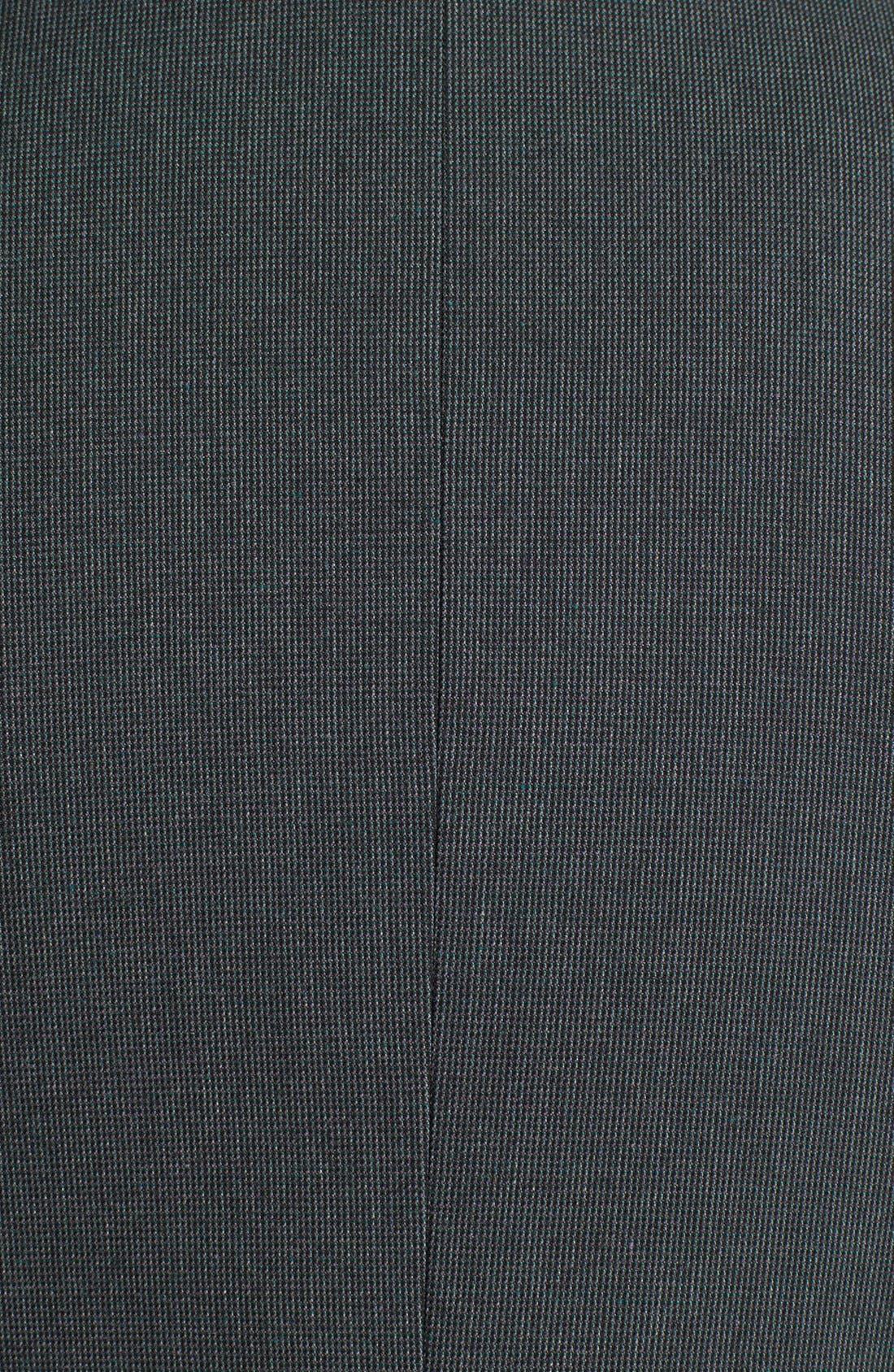 Alternate Image 3  - Halogen® 'Fox Hunt' Suit Jacket (Regular & Petite)