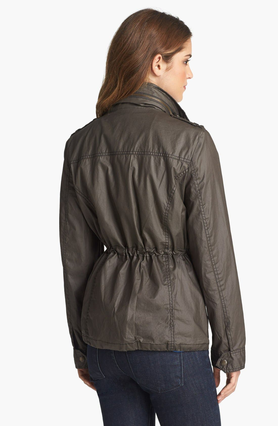 Alternate Image 2  - MICHAEL Michael Kors Waxed Cotton Field Jacket
