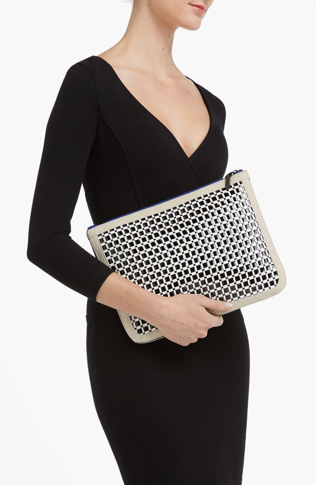Alternate Image 2  - French Connection Oversized Clutch