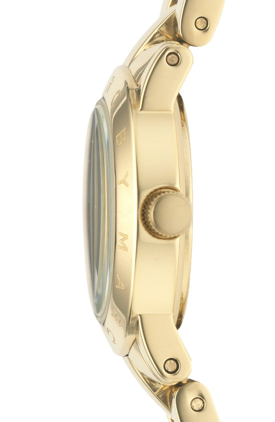 Alternate Image 3  - MARC JACOBS 'Small Amy' Crystal Bracelet Watch, 26mm