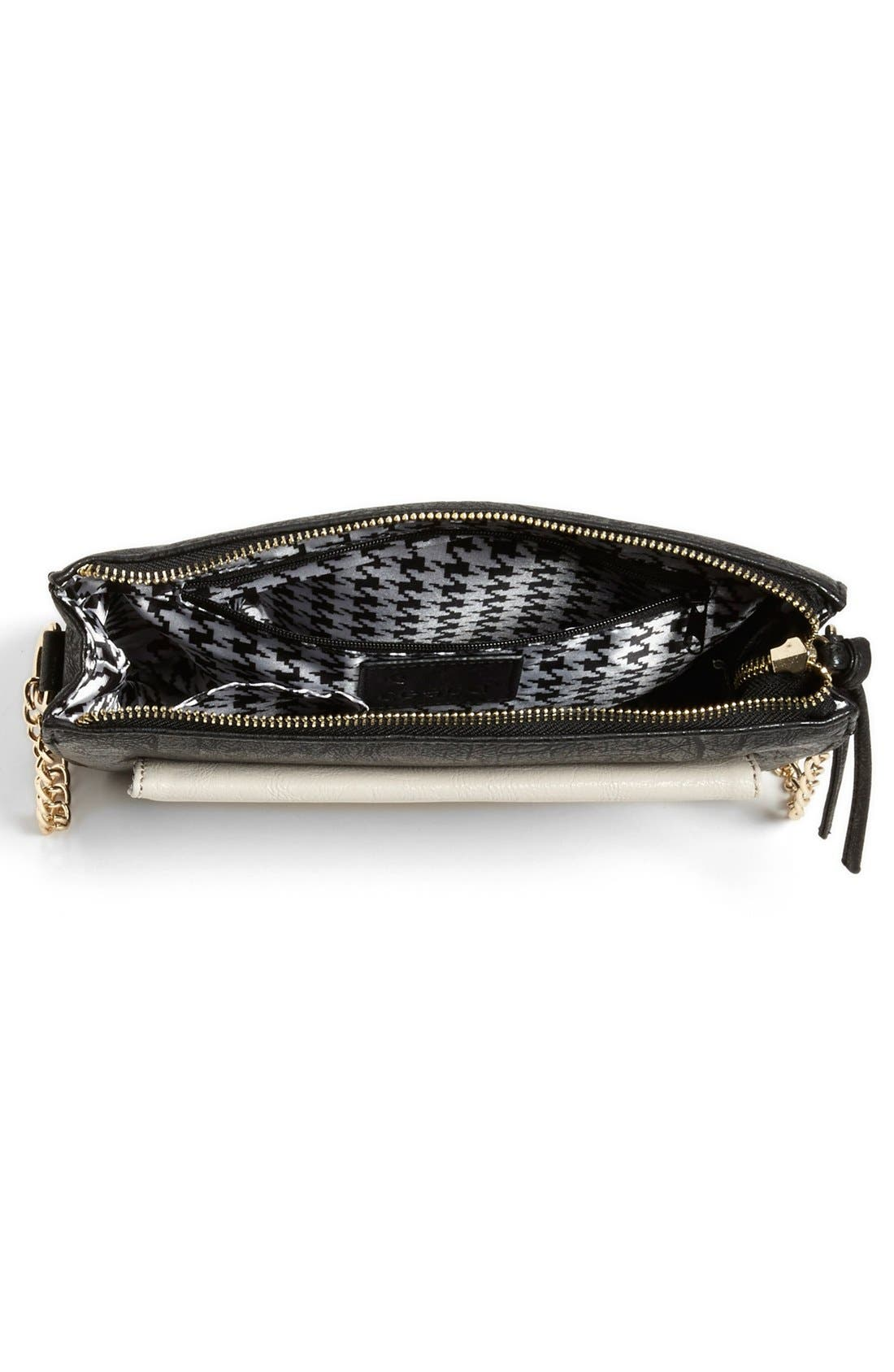 Alternate Image 3  - Cesca Faux Leather Crossbody Bag (Juniors) (Online Only)