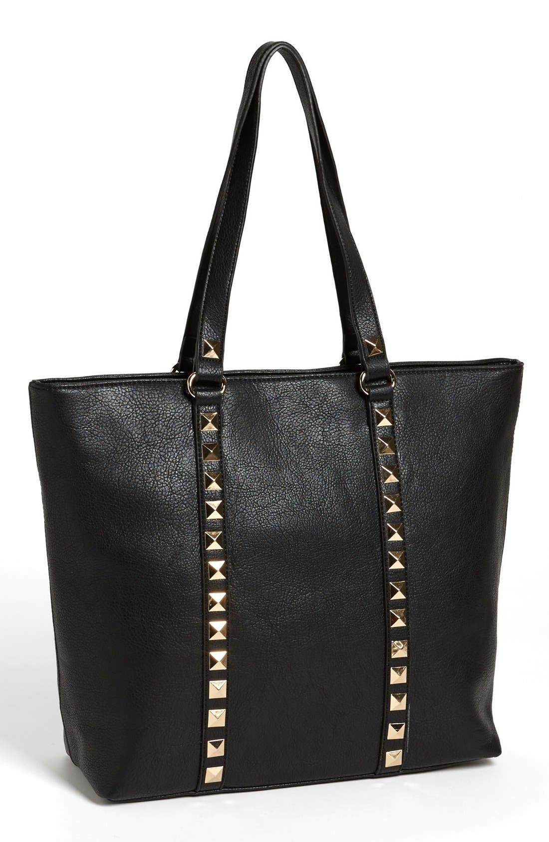 Alternate Image 1 Selected - Emperia Studded Trim Tote (Juniors) (Online Only)