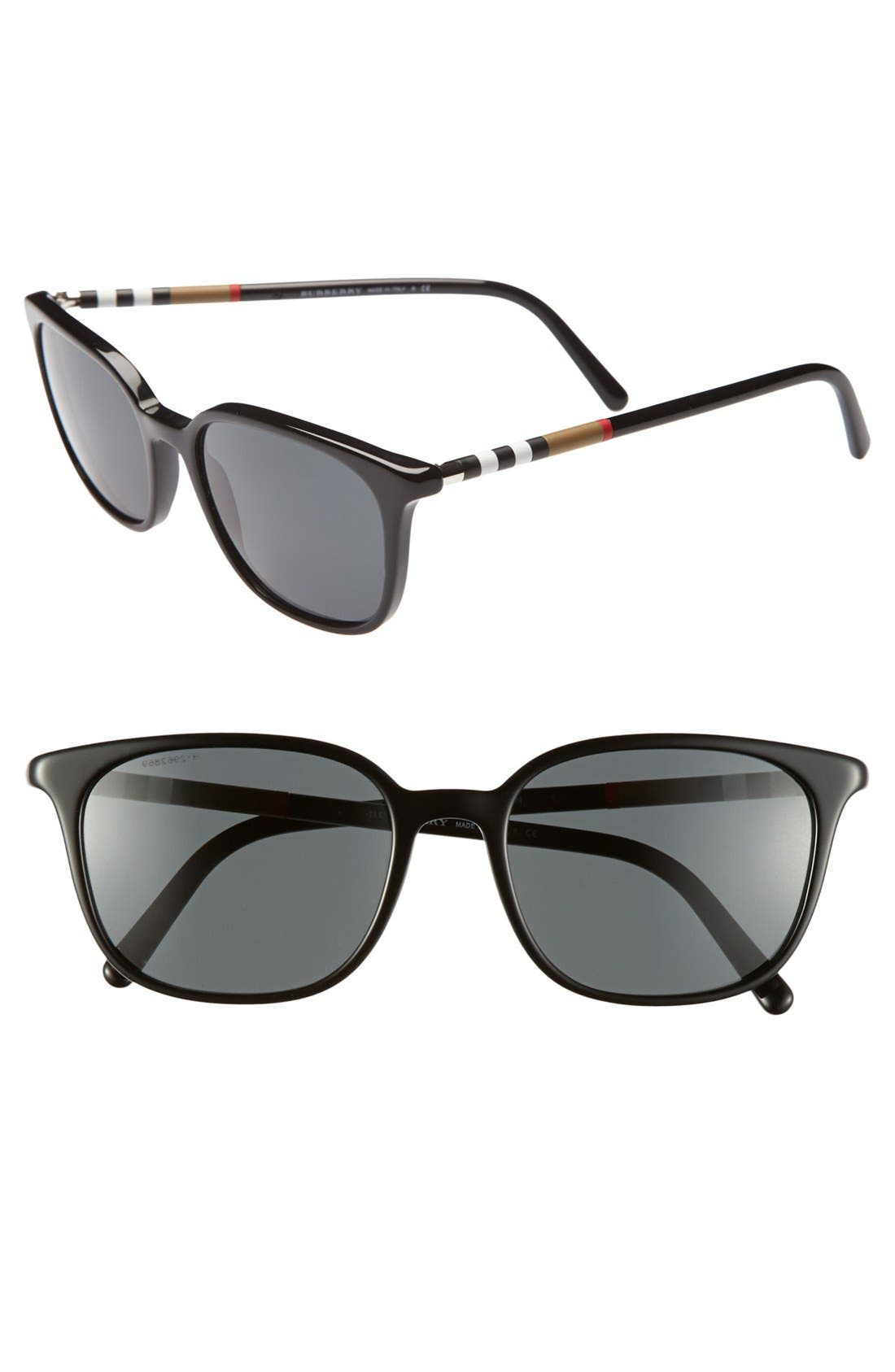 Alternate Image 1 Selected - Burberry 54mm Retro Sunglasses