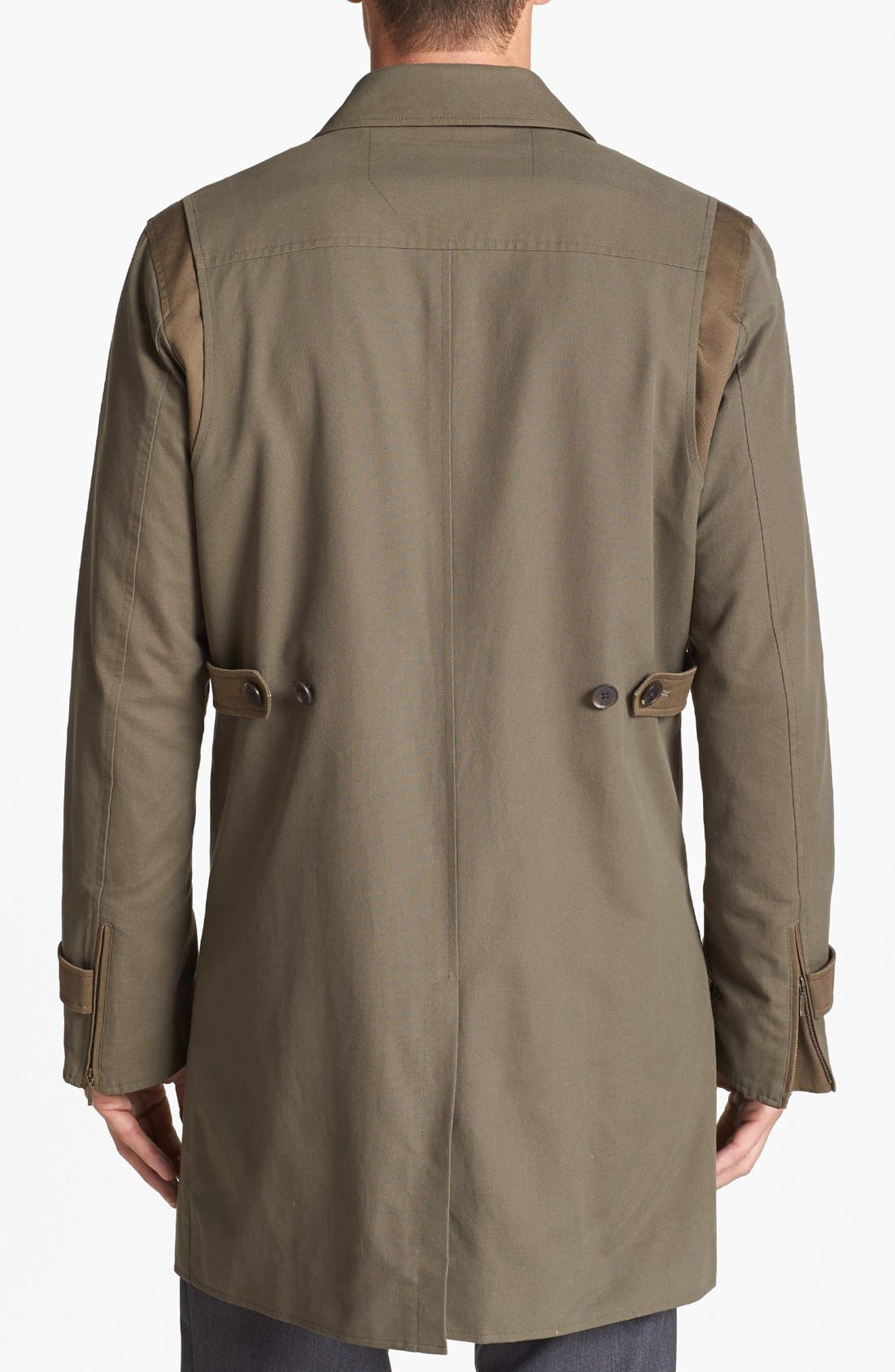 Alternate Image 2  - Vince Camuto Trench Coat