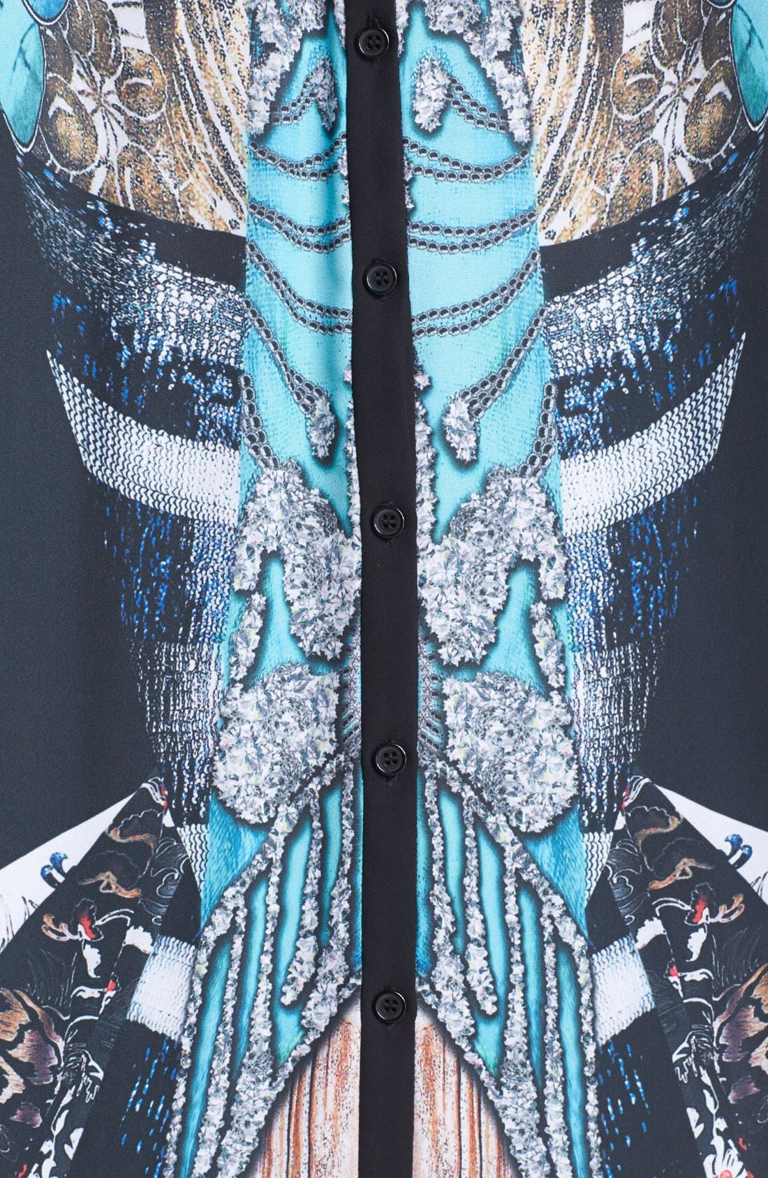 Alternate Image 3  - Clover Canyon 'All That Jazz' Print Blouse