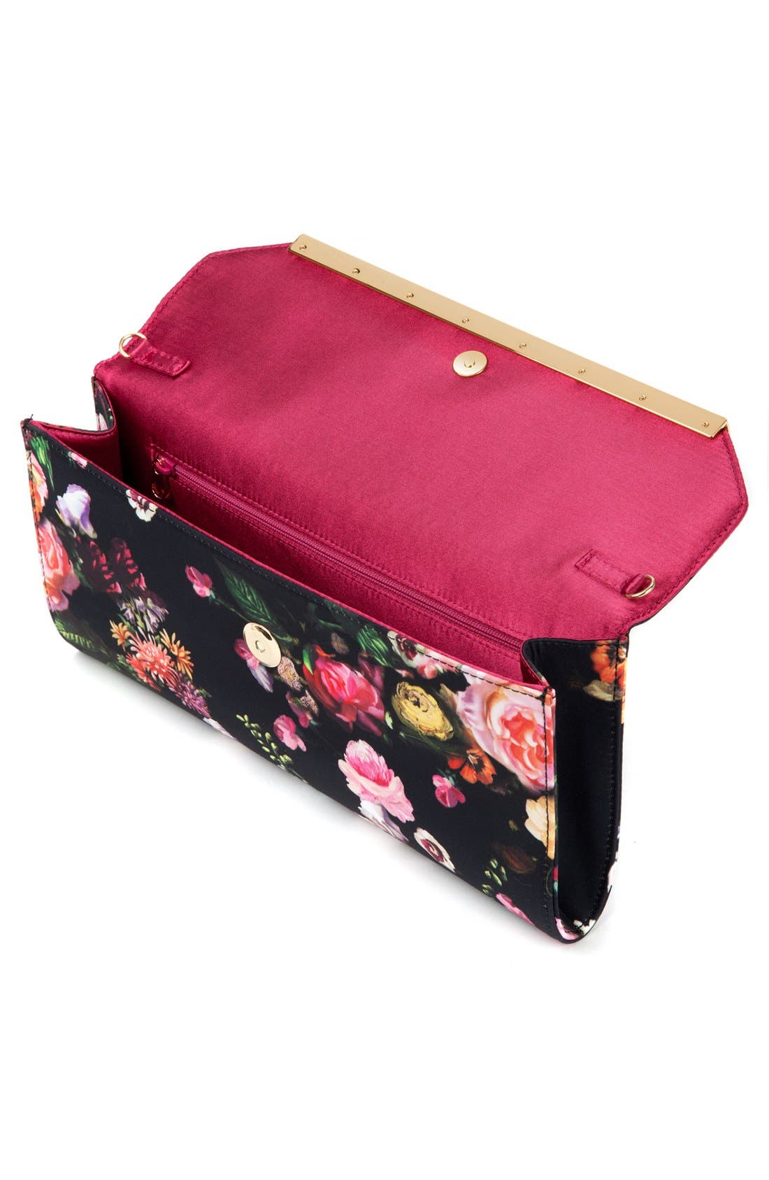 Alternate Image 2  - Ted Baker London Floral Clutch
