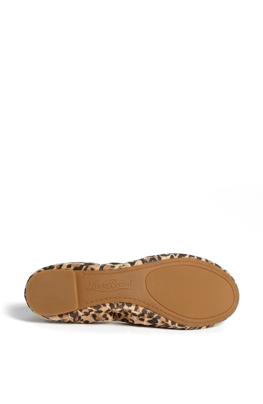 Alternate Image 4  - Lucky Brand 'Emmie' Flat
