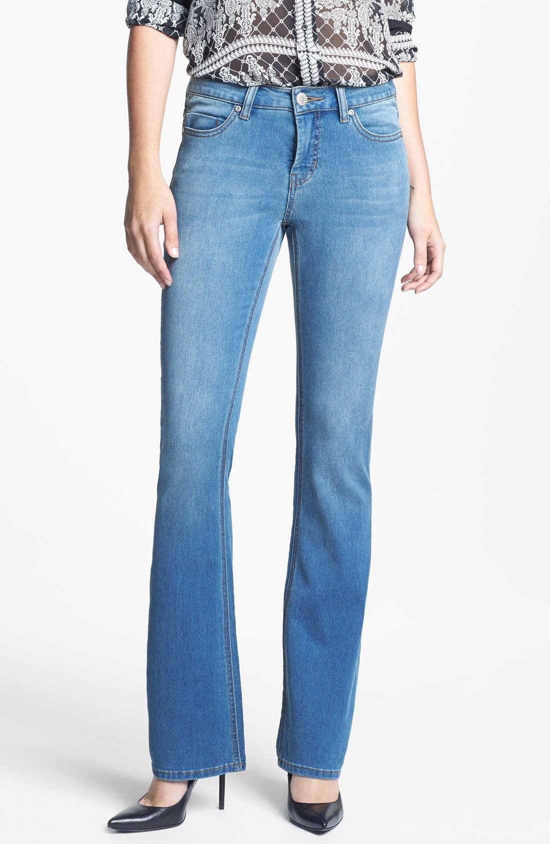 Alternate Image 1 Selected - Liverpool Jeans Company 'Lucy' Stretch Bootcut Jeans (Regular & Petite)
