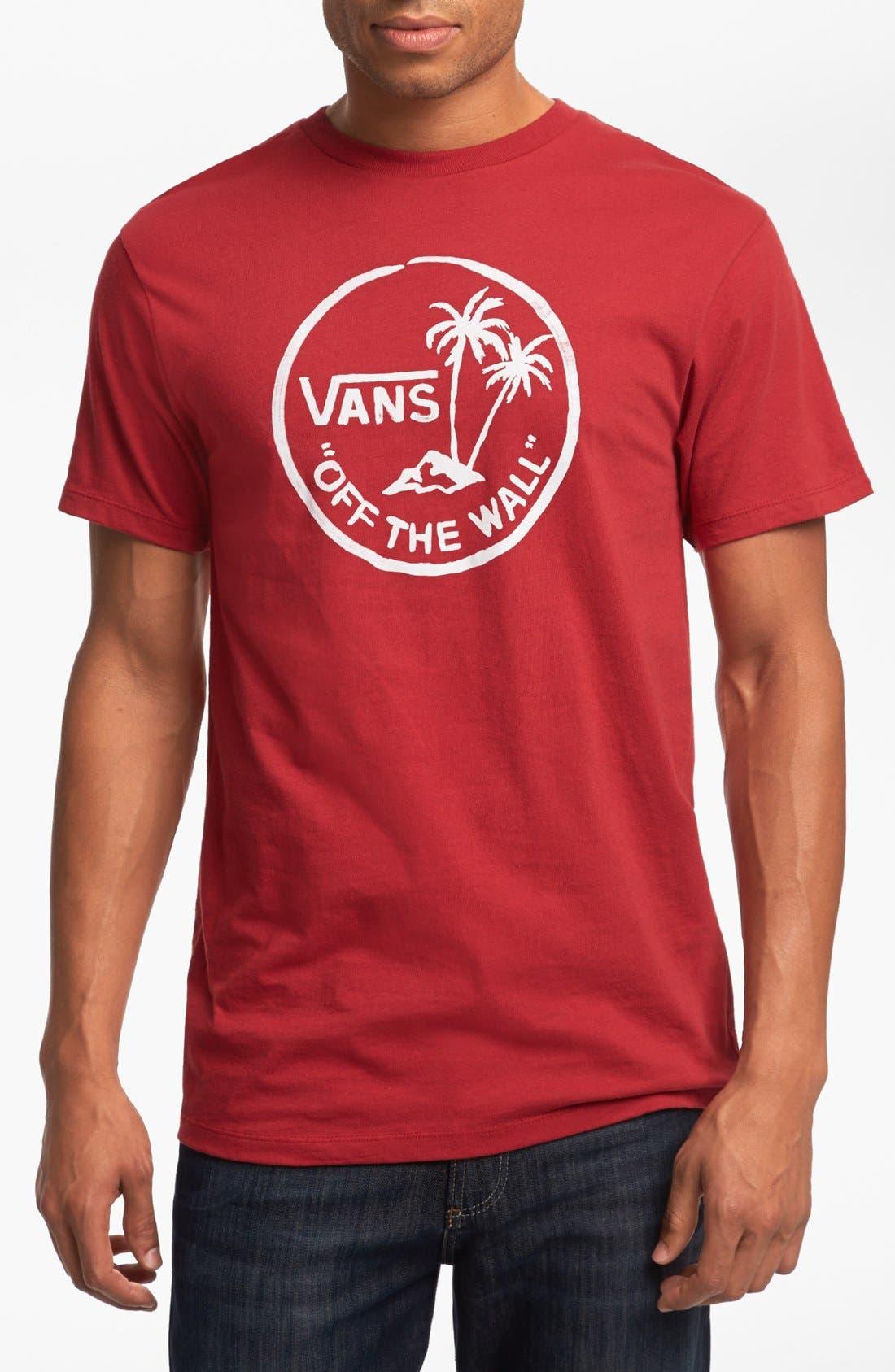 Alternate Image 1 Selected - Vans 'Palm Island' T-Shirt