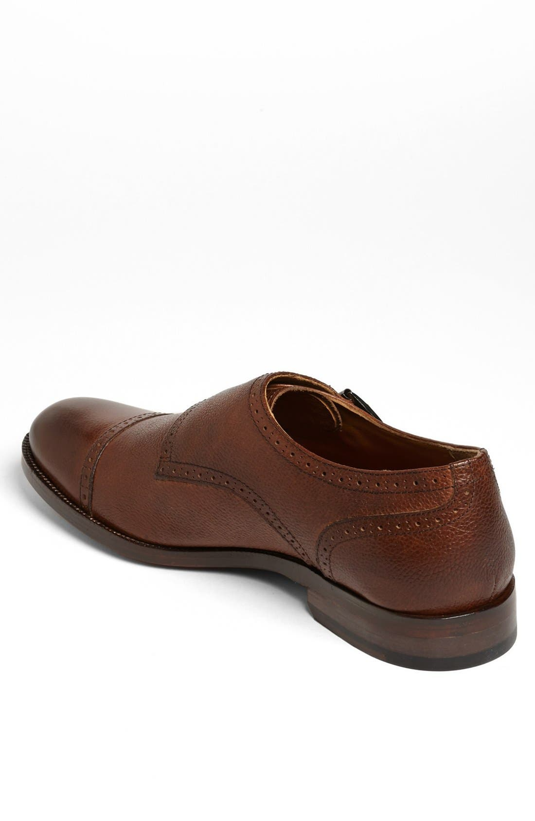 Alternate Image 2  - Johnston & Murphy 'Clayton' Double Monk Slip-On (Online Only)