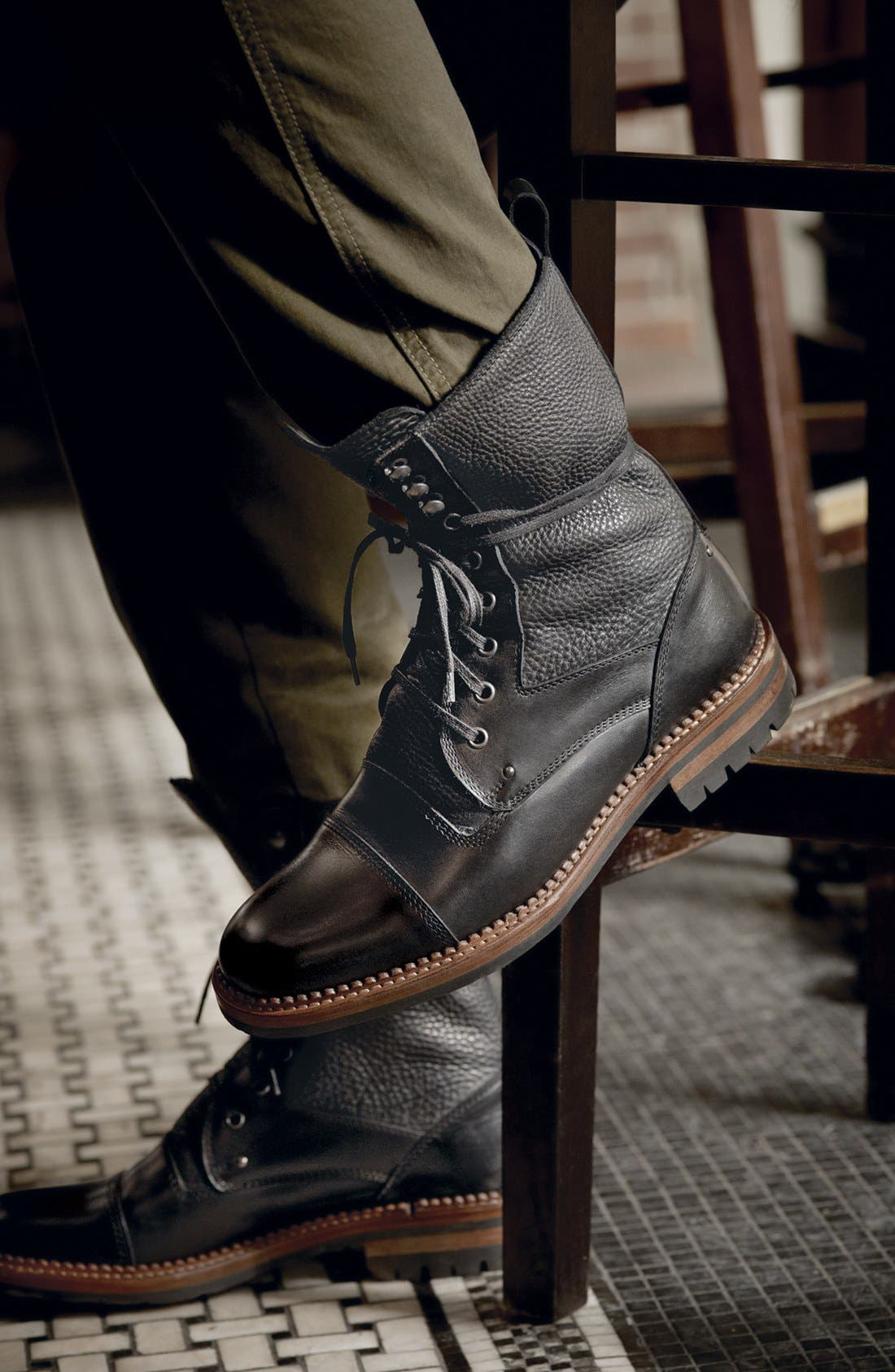 Alternate Image 5  - Bruno Magli 'Palatino' Cap Toe Boot