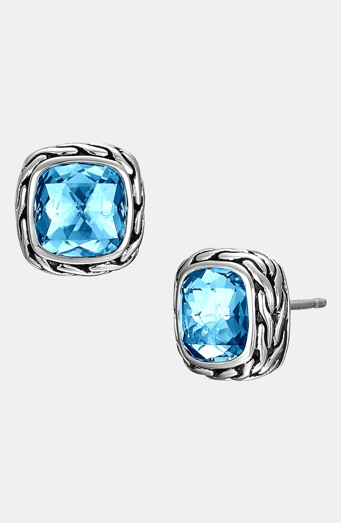 Alternate Image 1 Selected - John Hardy 'Classic Chain - Batu' Stud Earrings