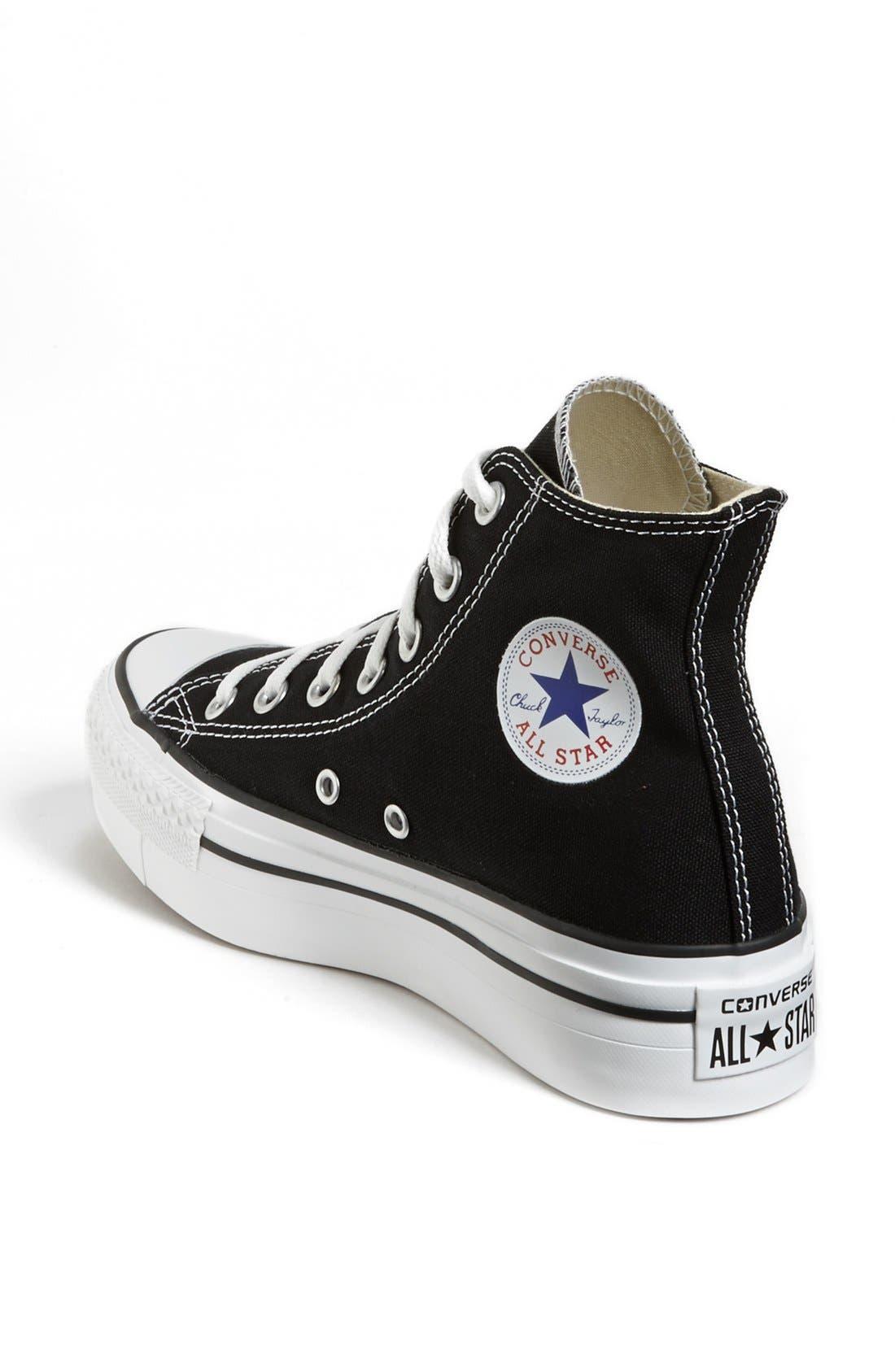 Alternate Image 2  - Converse Chuck Taylor® High Top Platform Sneaker
