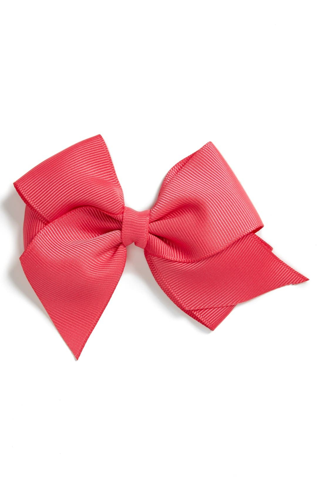 Main Image - PLH Bows & Laces Grosgrain Bow Clip (Baby Girls & Toddler Girls)