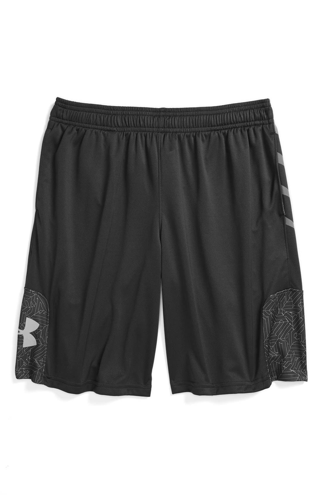 Main Image - Under Armour 'Watch Out' Shorts (Big Boys)
