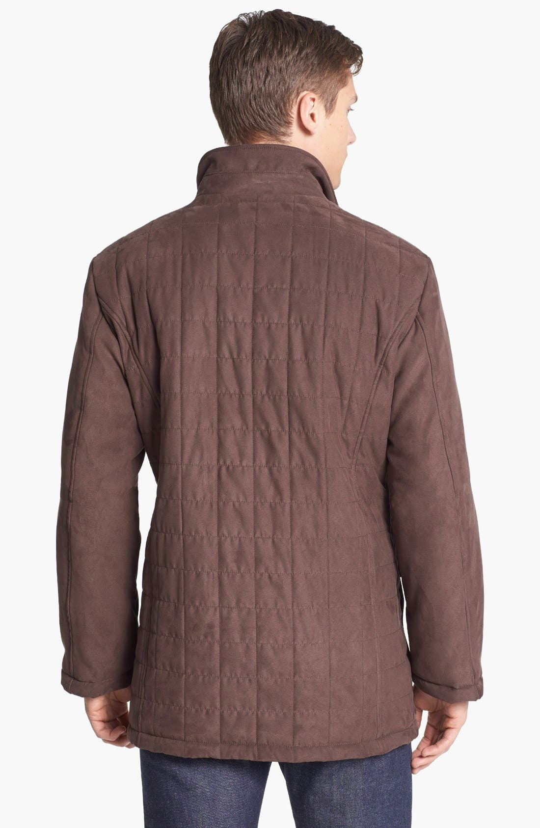 Alternate Image 2  - Canali Water Resistant Quilted Jacket