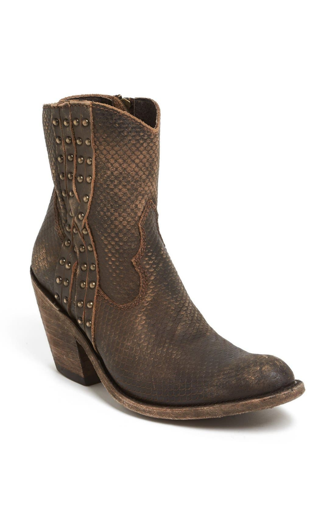 Main Image - Liberty Black Studded Short Western Boot