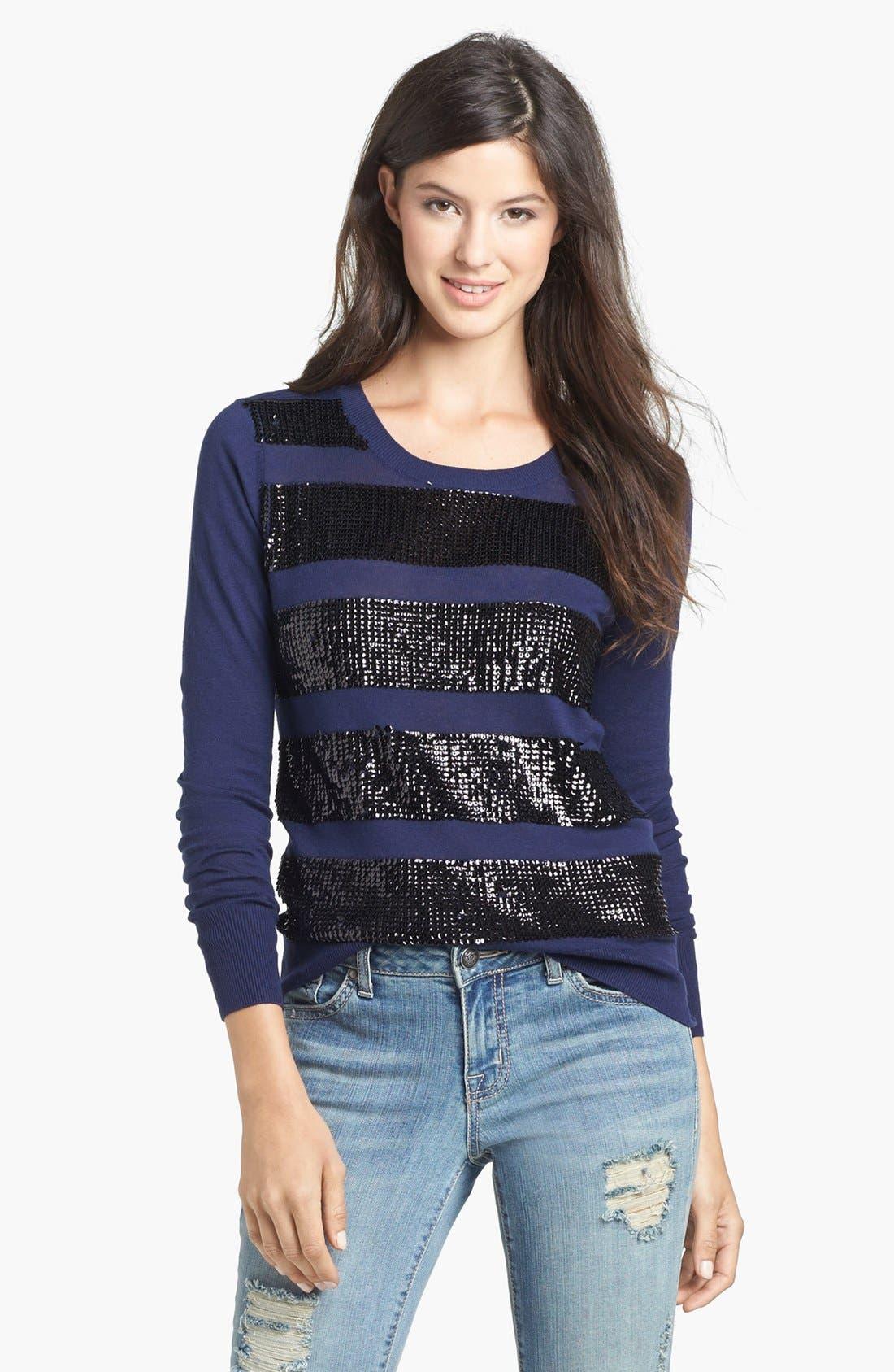 Alternate Image 1 Selected - Halogen® Crewneck Sweater