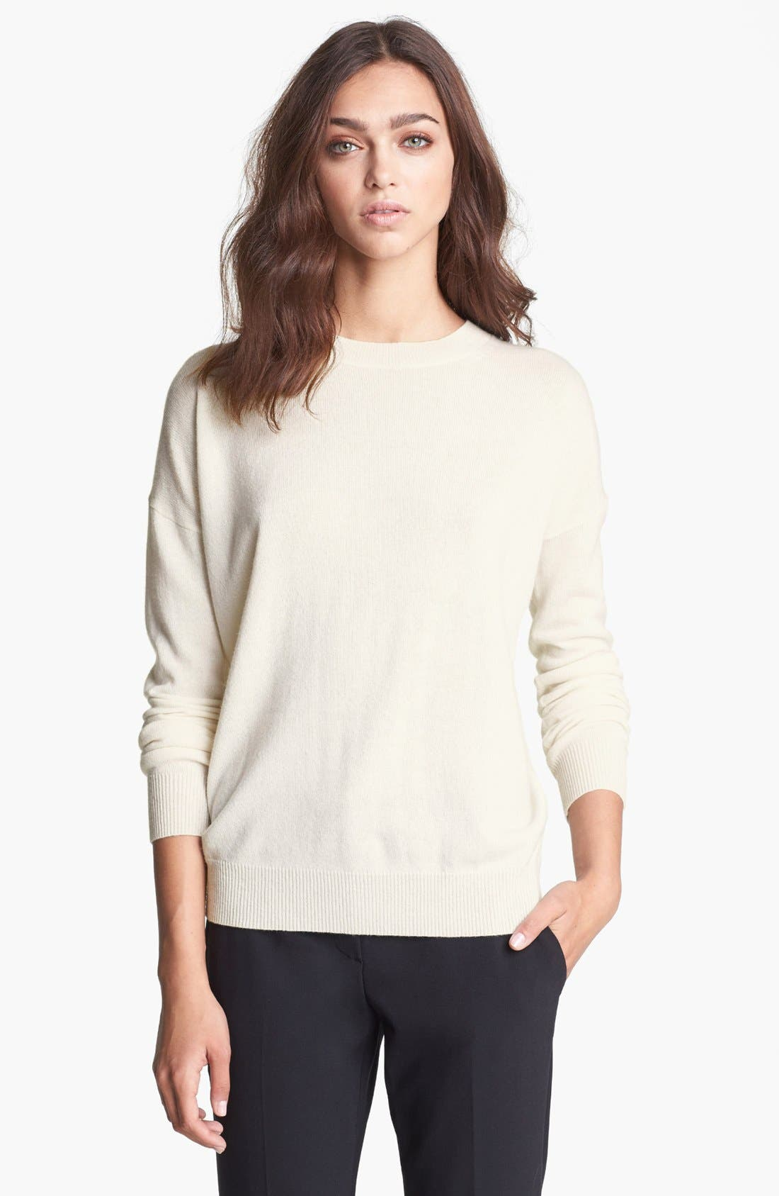 Alternate Image 1 Selected - Theory 'Tollie' Cashmere Sweater