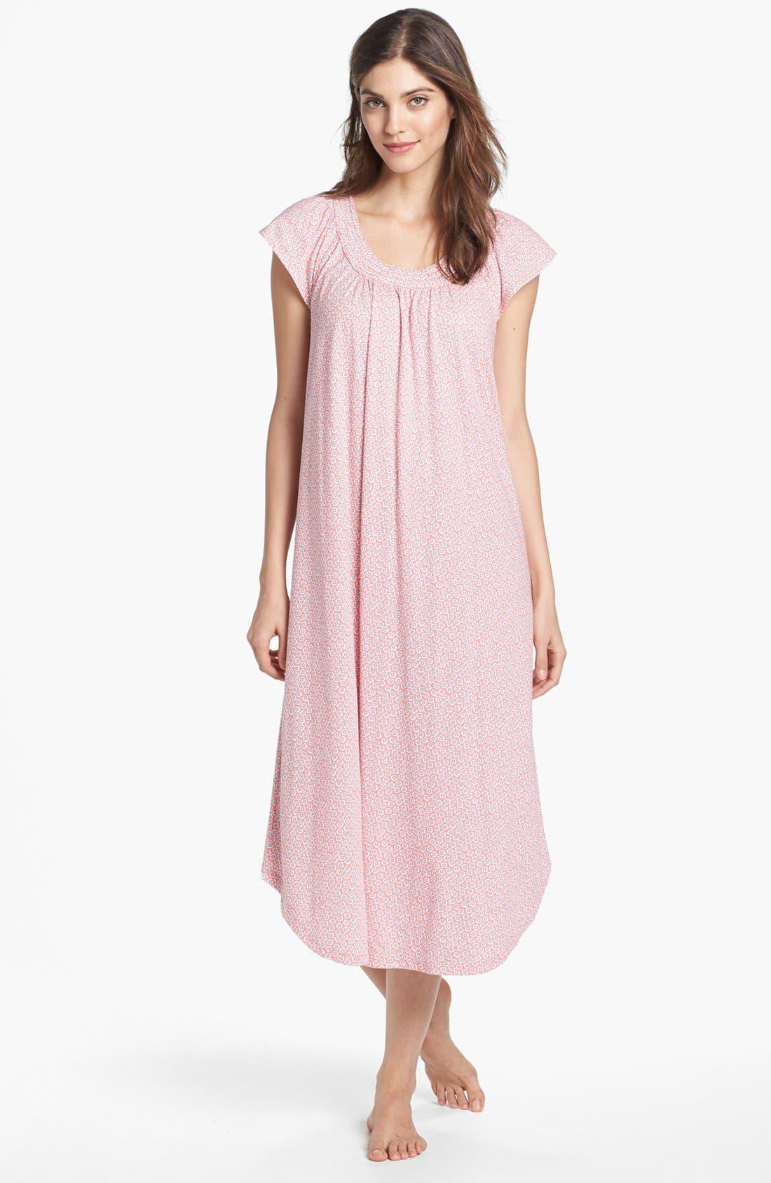 Alternate Image 1 Selected - Carole Hochman Designs 'Garden Delights' Nightgown