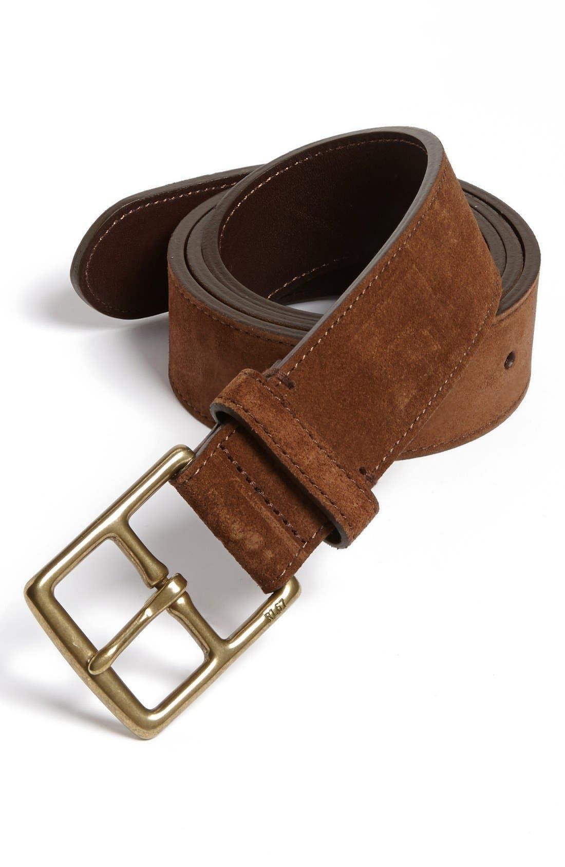 Alternate Image 1 Selected - Polo Ralph Lauren 'Heritage' Belt